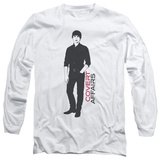 Long Sleeve: Covert Affairs - Auggie Standing T-shirts