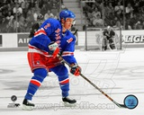 Brian Leetch 2002-03 Spotlight Action Photographie