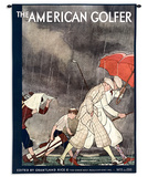 American Golfer Sept 1929 - Wall Tapestry Wall Tapestry