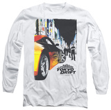 Long Sleeve: Fast and the Furious: Tokyo Drift - Tokyo Poster T-Shirt