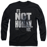 Long Sleeve: The Thing - Not Human Yet T-Shirt