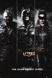 Batman, The Dark Knight Rises : Le Trio (Bane, Batman, Catwoman) Affiches