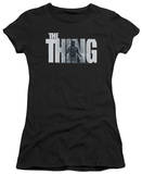 Juniors: The Thing - The Thing Logo T-Shirt