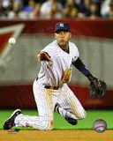 Derek Jeter 2012 Action Photographie