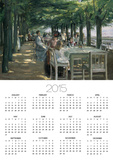 The Terrace at the Restaurant Jacob in Nienstedten on the Elbe, 1902 Posters by Max Liebermann
