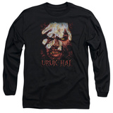 Long Sleeve: Lord of the Rings - Uruk Hai T-Shirt