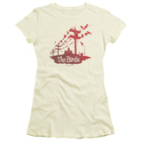 Juniors: The Birds- Birds On A Wire T-shirts