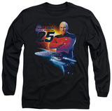 Long Sleeve: Star Trek - TNG 25 T-Shirt