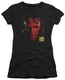 Juniors: Hellboy II - Hellboy Head T-shirts
