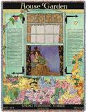 House & Garden May 1918 - Throw Blanket Throw Blanket by Helen Dryden