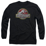 Long Sleeve: Jurassic Park - Jurassic Park Logo Shirts