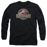Long Sleeve: Jurassic Park - Jurassic Park Logo Shirts