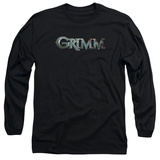 Long Sleeve: Grimm - Bloody Grimm Logo T-Shirt