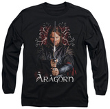 Long Sleeve: Lord of the Rings - Aragorn T-shirts