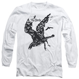 Long Sleeve: The Birds - The Birds Distressed Long Sleeves