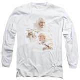 Long Sleeve: Lord of the Rings - Gandalf the White T-shirts