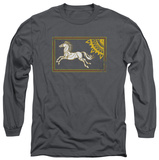 Long Sleeve: Lord of the Rings - Rohan Banner T-Shirt