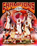 Miami Heat 2012 NBA Champions Composite Photo