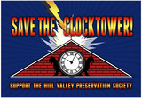 Save the Clocktower Movie Poster Print