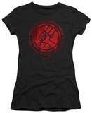 Juniors: Hellboy II - BPRD Logo T-Shirt
