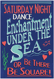 Enchantment Under The Sea Dance Movie Poster - Afiş