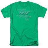 Back to the Future - Make Like a Tree T-Shirt