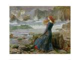 Miranda, The Tempest Giclee Print by John William Waterhouse
