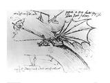 Air Buoyancy Giclee Print by  Leonardo da Vinci