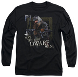 Long Sleeve: Lord of the Rings - The Best Dwarf T-Shirt
