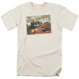 Back to the Future - Hill Valley Postcard T-Shirt