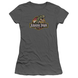 Juniors: Jurassic Park - Retro Rex T-shirts