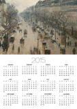 The Boulevard Montmartre on a Winter Morning Posters by Camille Pissarro