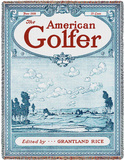 American Golfer June 1928 - Throw Blanket Throw Blanket
