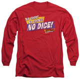 Long Sleeve: Fast Times at Ridgemont High - No Dice T-Shirt