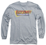 Long Sleeve: Fast Times at Ridgemont High - Distressed Logo T-Shirt