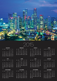 Singapore skyline Posters by Murat Taner