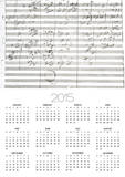 Score for the 3rd Movement of the 5th Symphony Poster by Ludwig Van Beethoven