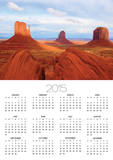 Mitten Buttes and Merrick Butte in Monument Valley Prints by José Fuste Raga