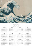 "The Great Wave of Kanagawa, from the Series ""36 Views of Mt. Fuji"" (""Fugaku Sanjuokkei"") Prints by Katsushika Hokusai"