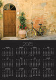 Bicycle Next to Flowers and Door Posters by Mark Bolton