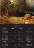 Harvest Moon Poster by Samuel Palmer