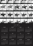 "Man and Horse Jumping, from ""Animals in Motion"", London, Published 1907 Prints by Eadweard Muybridge"