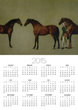 Whistlejacket and Two Other Stallions with Simon Cobb, the Groom, 1762 Posters by George Stubbs