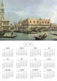 The Molo and the Piazzetta San Marco, Venice Poster by  Canaletto