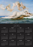 Birth of Venus, 1863 Posters by Alexandre Cabanel