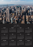 Manhattan Skyline Poster by Cameron Davidson