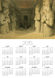 """Interior of the Temple of Abu Simbel, from """"Egypt and Nubia,"""" Vol.1 Prints by David Roberts"""
