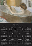Woman in Her Bath, Sponging Her Leg, circa 1883 Posters by Edgar Degas
