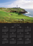 Old Head Golf Club in Ireland Posters by Tony Roberts
