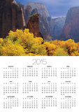 Zion National Park Poster by George H.H. Huey